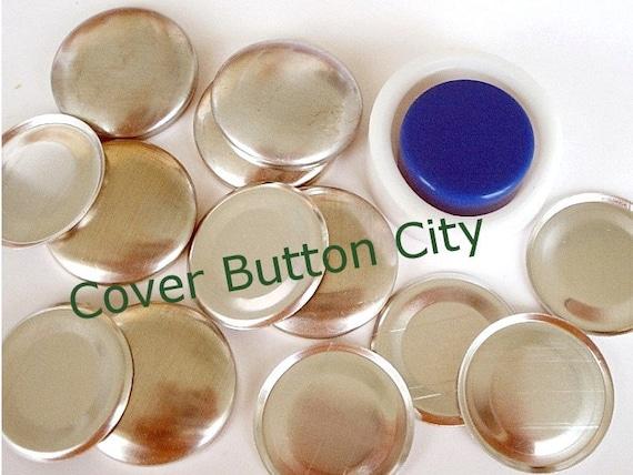 Cover Button Starter Kit Size 45 (1 1/8 inch) - Flat Backs