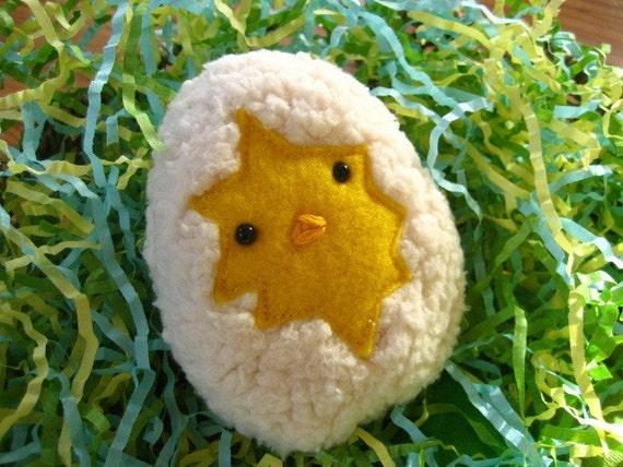 Mini Peek-a-Boo Chick Kawaii Plushie