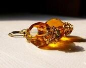 Vintage Honey Earrings