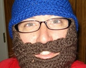 Detachable Bearded Beanie