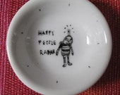 bowl hand painted