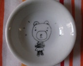 tiny bowl hand painted