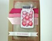Be My Valentine  - Handmade Valentine Card