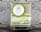Congratulations Wedding handmade card