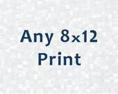 Any 8x12 Print