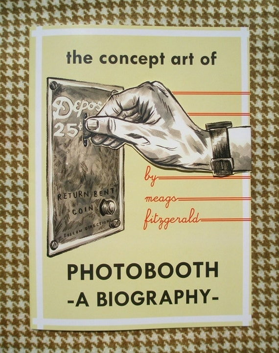 """Concept Art Booklet for """"Photobooth, A Biography"""" - 2nd Ed."""