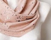 CLEARANCE Soft Splatter Loop Circle Scarf infinity