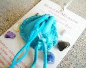 Headache/Migraine pocket- size Crystal Medicine Bag