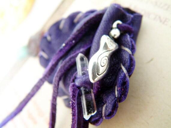 Inner Goddess pocket-size Crystal Medicine Bags