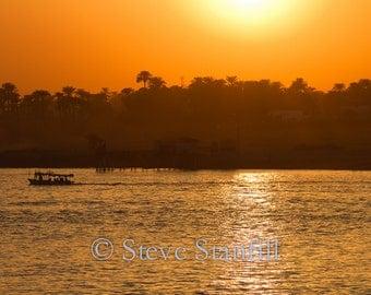 Scenes along the Nile River, Egypt