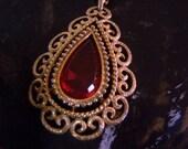 Vintage Shop New Orleans Avon 40 Inch Tear Drop Necklace Treasury Featured
