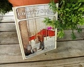 On Sale Vintage Country Scene Book from Ideals  Online Vintage, home accents, vintage home