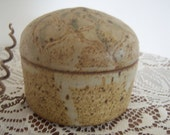 On Sale Vintage Pottery Jewelry Container Signed Home Decor New Orleans Vintage Shop Holiday Retro Vintage