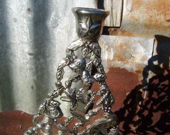 Vintage Shop New Orleans Godinger Silverplate Candle Base