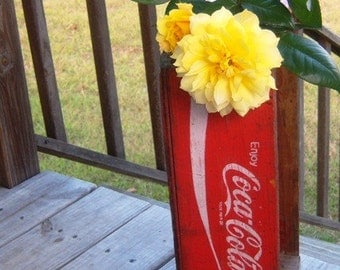 Vintage 1971 Coca Cola Carrier Crate - Use Eveteam Coupon