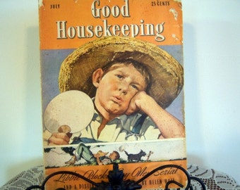 Vintage Good Housekeeping Magazine 1939  Online Vintage, vintage clothing, home accents, vintage magazine Advertising