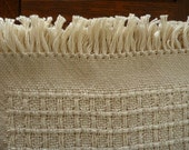 Handwoven Natural Huck Boxes Placemats