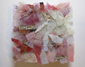 Pink Princess Glass Sculpture