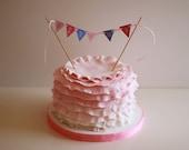 Princess Birthday Cake Banner - Printable