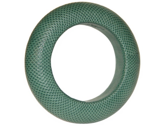 Loewe Snakeskin Bracelet, Karung Bangle, Signed, Luxurious