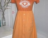 UT Texas Longhorns Game Day T Shirt Tee Dress S M