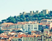 Lisbon Portugal Photo - Jeweled City - 5x7 Original Fine Art Photograph - urbanantique