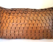 Metallic Brown Mermaid Pillow Cover/ Made To Order/ LAST ONE