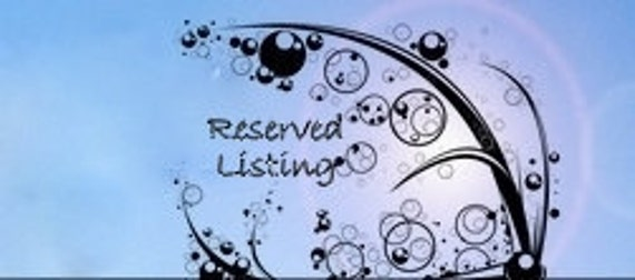 Reserved Listing for Brooke