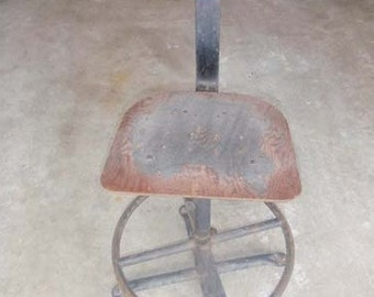 Bare bones vintage operator chair