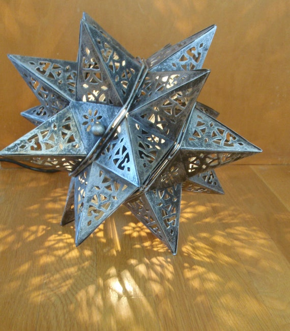 Anthropologie Lamps: Bright Star Anthropologie Inspired Lamp Hanging Or Desk Style