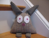 Bunny plush toy pillow softie rabbit