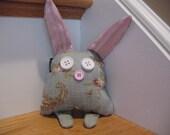 Baby Bunny plush toy pillow softie rabbit