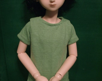 Lime Green 45cm BJD Shirt