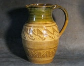 Two Quart Wavy Pitcher
