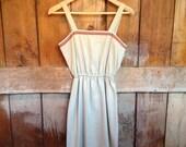 Vintage Summer Dress, Ladies S