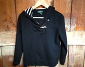 Vintage Ralph Lauren Nautical Hooded Sweater, Ladies S