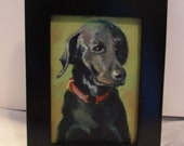 Custom impressionist painting of your pet - 3x5 or 4x7