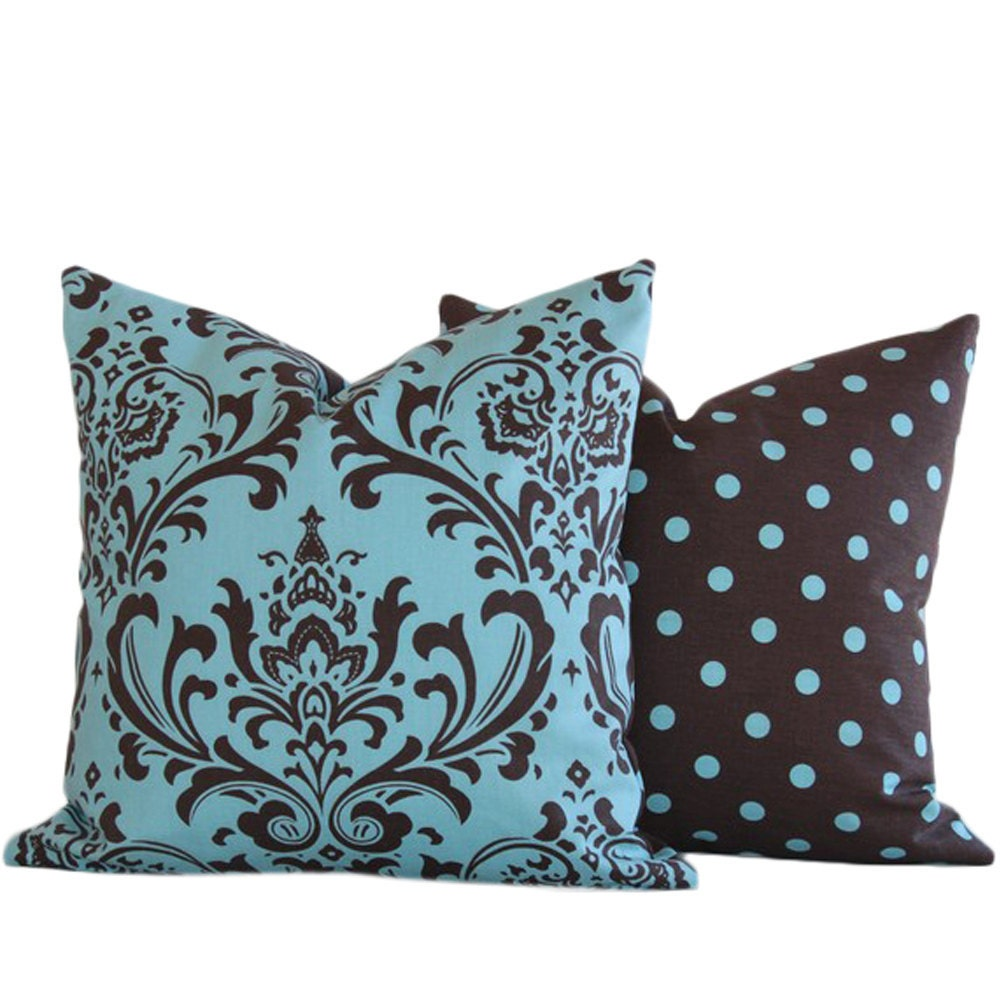 Blue And Brown Decorative Pillow Cover : 301 Moved Permanently