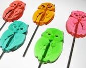 Owl Lollipops 6 pieces