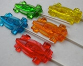 Racing Car Lollipops 8 pieces