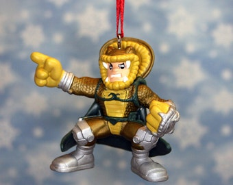 GI Joe Cobra Serpentor Combat Heroes Christmas Ornament