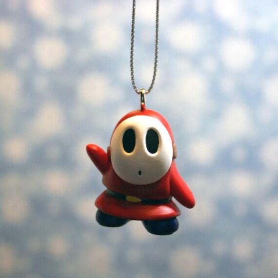 Nintendo Super Mario Brothers Shy Guy Christmas Ornament