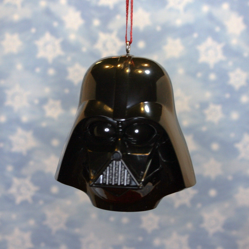 Star Wars Darth Vader Bust Christmas Ornament by ReGeekery ...