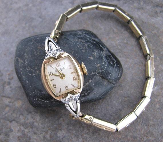 vintage 1959 bulova 23 with 2 diamonds
