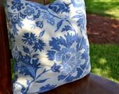 Designer Linen & Cotton Fabric Pillow Cover - Throw Pillow - Decorative Pillow - 18X18
