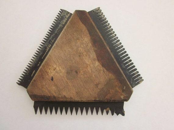 Vintage Wood Grain Painting Tool