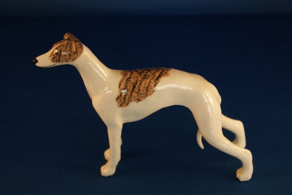 Ceramic Whippet Figurine