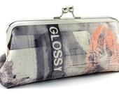 Modern Clutch Handbag - Vegan Suede  - by Bagboy