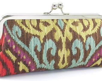 Ikat Clutch Purse Handbag by Bagboy