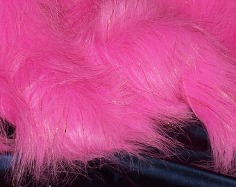 Think Pink Long Faux Fur with Lurex . . . .6.00 Flat Rate Shipping